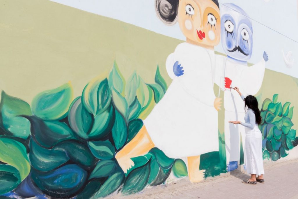 مريم السندي جداريات ديسمبر